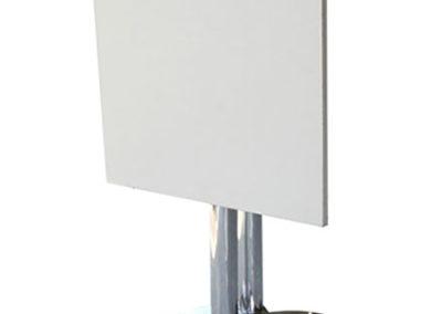 Mesa Aluminio Nova Rebatible